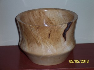 Sugar Maple Burl Bowl