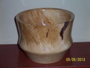 Sugar Maple Burl Bowl