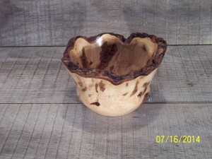 "Red Maple Burl 5 1/2"" wide & 4"" tall"