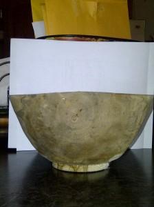 "Ambrosia Red Maple Bowl 10"""