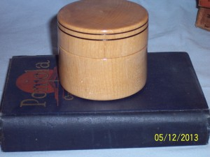 Sugar Maple Lidded Box